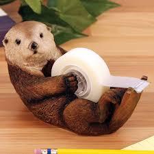 Owl Desk Accessories by Amazon Com 1 X Otto The Otter Tape Dispenser By Streamline