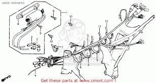 honda cm200t twinstar 1980 a usa wire harness schematic partsfiche