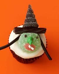 Halloween Witch Cakes halloween cupcake recipes martha stewart