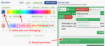 colors home page colorizeit and commercial xenforo styles xenforo tutorial artodia