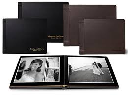 leather bound wedding albums picaboo review photo books from casual to formal wedding albums