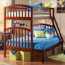 Mission Bedroom Furniture Rochester Ny by Bunk Loft Beds Wayfair Santa Fe Mission Bed With Trundle Loversiq