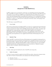 rfp cover letter template rfp cover letter business cover letter business