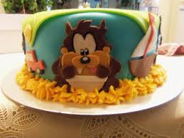 baby looney tunes cake cakecentral