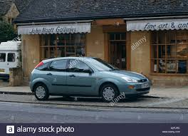ford focus model years ford focus 5 door model years 1998 to 2001 stock photo royalty
