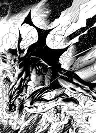 jim lee batman work in progress r friend inks by blasterkid on