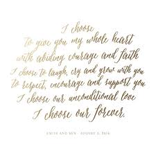 wedding keepsake quotes turn your wedding vows into a treasured gold foil pressed keepsake