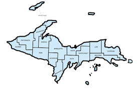 up michigan map mdhhs eat safe fish guides