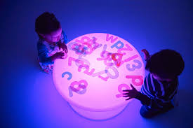 sensory mood light table sensory glow co uk sensory lighting light