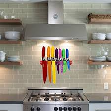 magnetic strips for kitchen knives chefcoo kitchen all in one cutlery knife set with magnetic