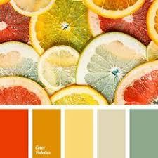 Yellow Color Combinations Interior Design And Decor Orange Color Schemes Interior Colors