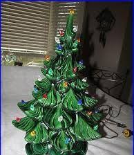 updating an old ceramic christmas tree clutterbug me