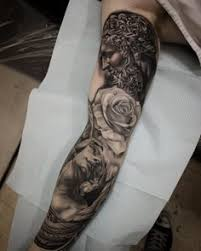god amazing black and grey tattoos for