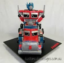 transformer cakes optimus prime transformer cake cake by custom cake designs
