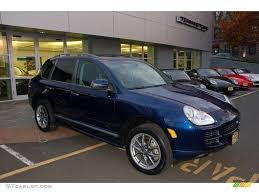 2006 Porsche Cayenne - 2006 marine blue metallic porsche cayenne s titanium 21005268