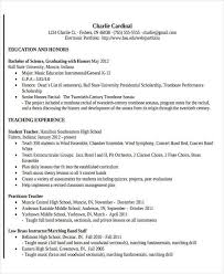 Music Teacher Resume Template 25 Teacher Resume Formats Free U0026 Premium Templates