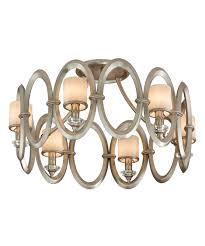 corbett lighting 134 36 embrace 25 inch wide semi flush mount