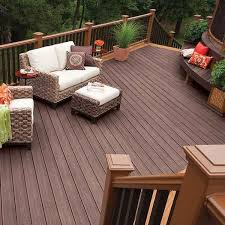 trex composite decking saddle decking building products