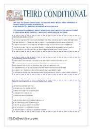 third conditional condicionales pinterest third worksheets