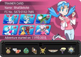 Pokemon Trainer Card Designer Pokemon Trainer Id Card Images Pokemon Images