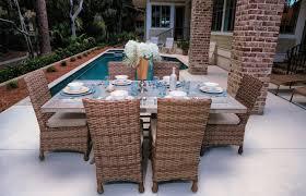 Wicker Outdoor Patio Furniture Wicker Cast Aluminium Fabrics Pvc Pipe Furniture Charleston