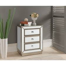 Silver Nightstand Ls Top Product Reviews For Treasure Trove Accents Elsinore Silver And