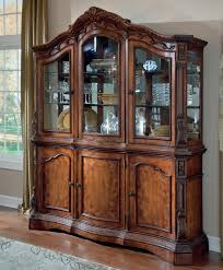 furniture antique wooden dining room hutch for contamporary
