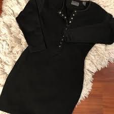 sleeve black dress espire dresses skirts sleeve black dress poshmark