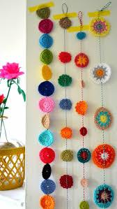 Crochet Halloween Garland Strawberry Garland Crochet Bunting Summer Party Decoration It S