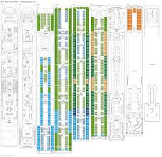 carnival conquest floor plan msc opera deck plans diagrams pictures video