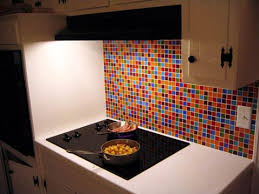 colorful kitchen backsplashes glass tile kitchen backsplash pictures imagine the possibilities