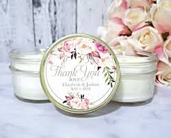 wedding candle favors blush wedding favors candle wedding favors candles blush