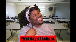 Teacher Lady Meme - first day of school youtube
