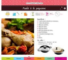 recettes cuisine pdf fiche recette viande poulet à la paysanne version pdf cuisine saine