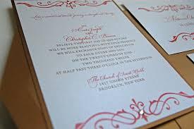 simple yet elegant wedding invitations lepenn designs fabulous