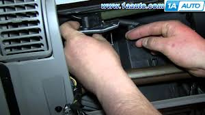 how to install replace heater ac fan speed resistor 1996 99 chevy