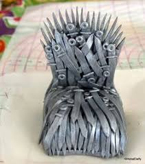 How To Make A Gaming Chair How To Make à Game Of Throne Cake Topper The Throne My Sweet