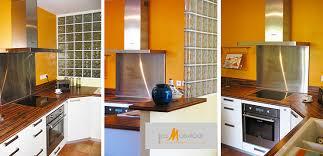 brique de verre cuisine photo aménagement de cuisine galerie photo cuisine