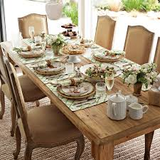 Williams Sonoma Table Linens - harvest dining table williams sonoma