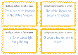 fact and opinion task cards text guided reading by acrosbie