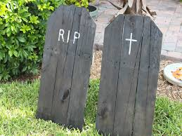 tombstones for how to make upcycled tombstones for your yard diy