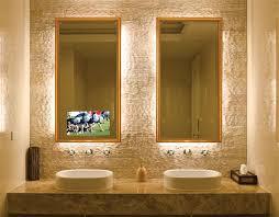 Led Backlit Bathroom Mirror Backlit Bathroom Vanity Mirrors Awesome And Beautiful Backlit