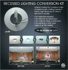 recessed light conversion kit chandelier recessed light conversion kit brilliant pendant ricardoigea com with