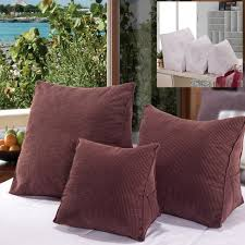 chair pillow for bed corduroy stereo triangle cushion pillow bed sofa chair seat back
