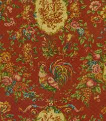 Waverly Home Decor Fabric Home Decor Print Fabric Waverly Saison De Printenps Bordeaux Joann