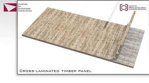 Laminated Timber Flooring Cross Laminated Timber Lcbt Gateway Animation Youtube