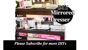 Ikea Hack Vanity Diy Decorate Your Vanity With Mirrors Ikea Hack Malm Dressing