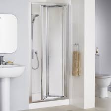 Shower Door 700mm Lakes 700mm Framed Bi Fold Shower Door