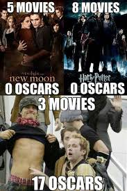 Funny Oscar Memes - how to adapt books lotr crushes and harry potter