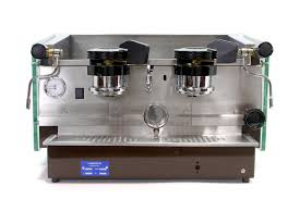 vintage espresso maker restored updated la marzocco gs2 2 group espresso machine